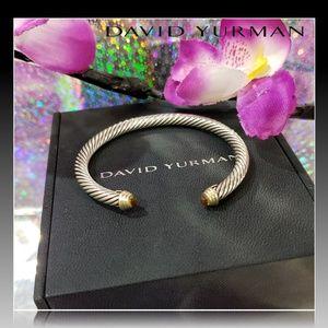 🌺 David Yurman Citrine Cable Cuff Bracelet 🌺
